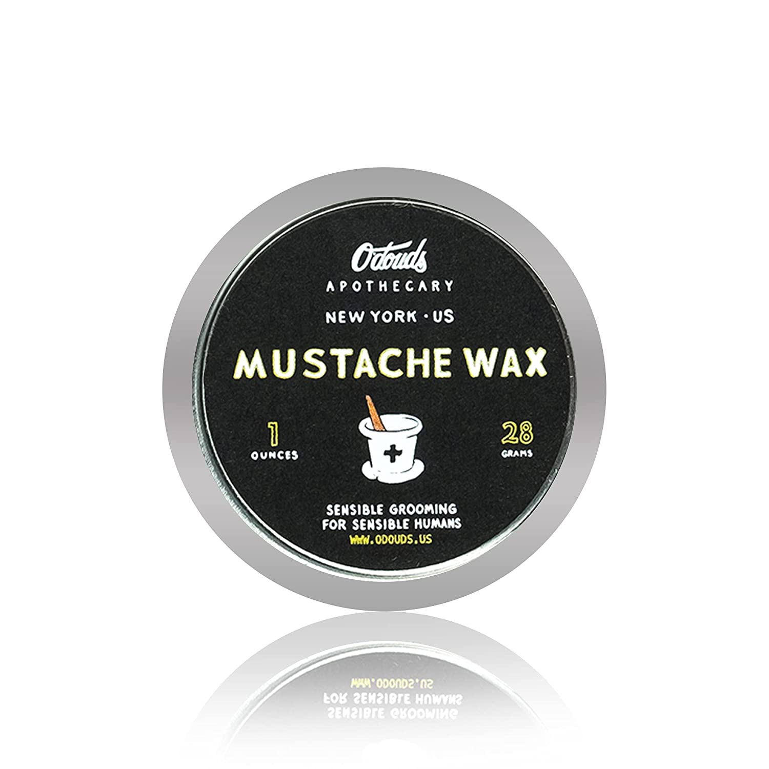 O'Douds Mustache Wax Free shipping on Ranking TOP2 posting reviews for Men Daily Styling Wa Natural -