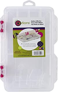 Creative Options 2-3650-81 Pro-Latch Utility Organizer with 5 to 20 Adjustable Compartments, Medium