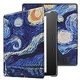 JiuRui cubiertas y fundas para Tablets y teléfono, Para Amazon Kindle Oasis 9a y 10a generación,...