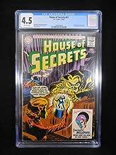 House of Secrets #61 CGC 4.5 Origin Eclipso Lee Elias Cover