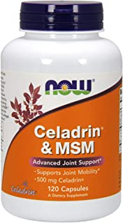 NOW Supplements, Celadrin® & MSM, 500 mg of Celadrin®, Advanced Joint Support*, 120 Capsules