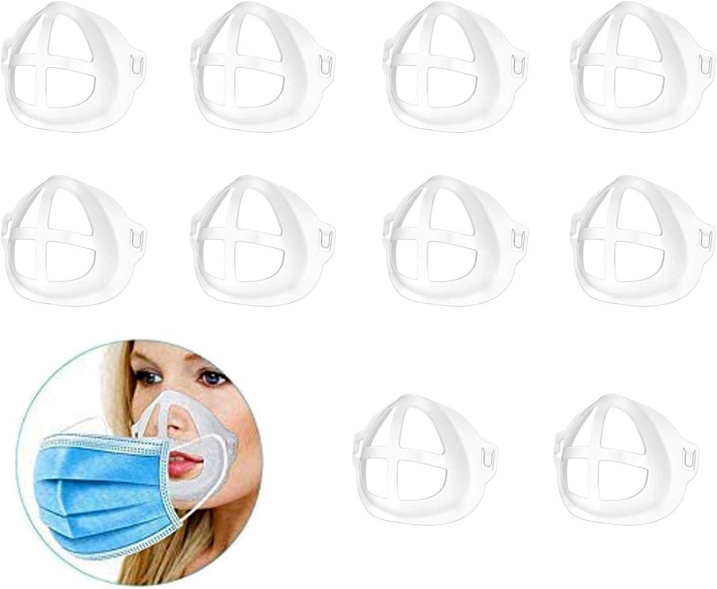 SHEGRACE Marco de Soporte Interior 3D Bracket, Puede Usar Una Máscara, Soporte de Silicona Fresco, Cómodo de Respirar, se Puede Lavar y Reutilizar