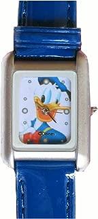 Disney Blue Square Donald Duck Watch Donald Duck Wristwatch