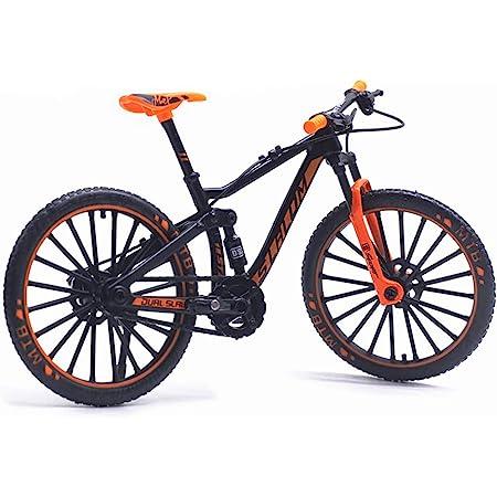 Finger Bikes BMX,1:10 Scale Model Diecast Racing Bike,Mini Bicycle Toy Alloy Finger Mountain Bike Model Ornaments Bicycle Ball Model Bike Gadgets 11 x 8cm