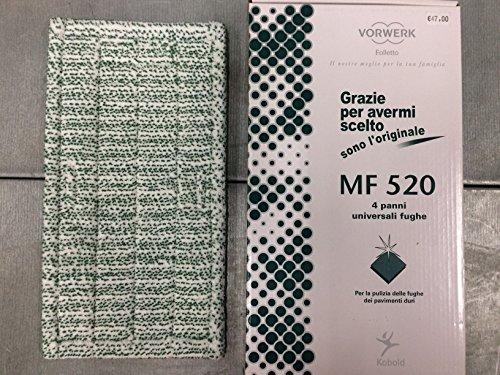 1Tuch Universal Fugendüse MF520Original Vorwerk Kobold für Bodenwischer SP520SP530