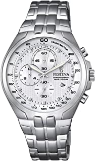 Festina F6843/1 For Men - Analog Casual Watch Stainless Steel