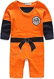 Baby Toddler Kids Dragon Ball Goku Onesie Jumpsuit Romper