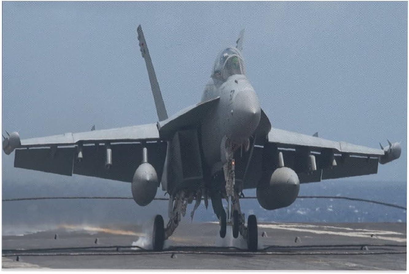 PYFXSALA Navy F -18 favorite Super Hornet Poster Washington Mall Canvas Decor Bedroom S 3