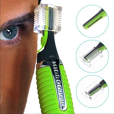 Hemiza All in One Hair Remover Trimmer Shaver with in Built Small LED Light (Multicolour)