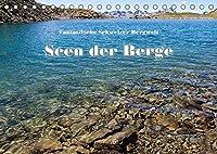 Fantastische Schweizer Bergwelt - Seen der Berge (Tischkalender 2022 DIN A5 quer): Die schoensten Bergseen der Zentral- und Ostschweiz (Monatskalender, 14 Seiten )