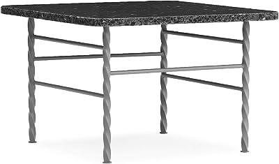 Normann Copenhagen Terra Table, Acier allié, Gris, 36x55xD55cm