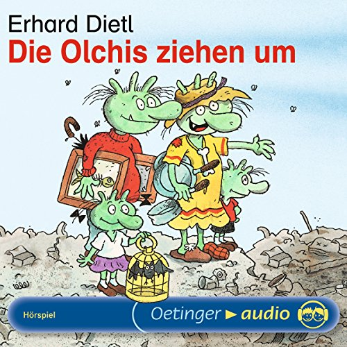 Die Olchis ziehen um                   By:                                                                                                                                 Erhard Dietl                               Narrated by:                                                                                                                                 Rainer Schmitt,                                                                                        Stephanie Kirchberger,                                                                                        Maritna Mank                      Length: 27 mins     Not rated yet     Overall 0.0