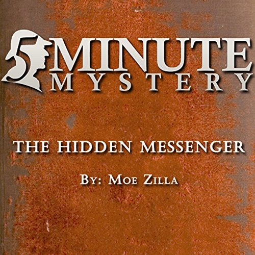 5 Minute Mystery - The Hidden Messenger audiobook cover art
