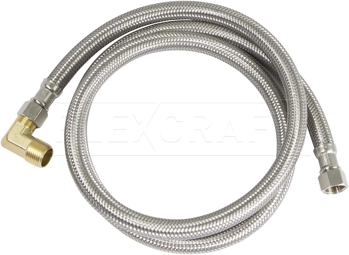 Highcraft Dishwasher Water Supply Line Hose 3 I Connector 8 Minneapolis Mall Max 67% OFF Has