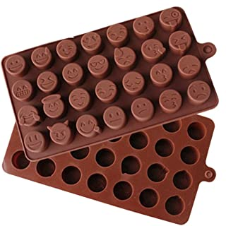 DingSheng 28 QQ Bacterial Expression DIY Candy Baking Chocolate Cake Ice Pudding Silicone Forms Emoji candy Jelly tray mold