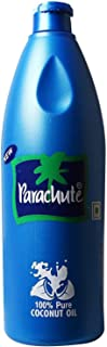 Natural coconut oil from Parachute 500 ml