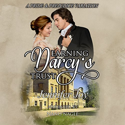 Earning Darcy's Trust audiobook cover art