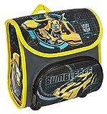 Scooli TFUV8240 - Vorschulranzen Cutie mit Klettverschluss, ergonomisch, robust, Transformers mit Bumblebee und Optimus Prime Motiv, ca. 23 x 21 x 11 cm