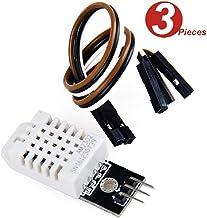 DollaTek 3Pcs DHT22/AM2302 Digitales Temperatur- und Feuchtigkeitssensormodul Ersetzen Sie SHT11 SHT15