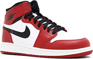 Jordan Kids Grade School 1 Retro High Og (Gs) 'Notorious' White Red Black 332558-163 6y