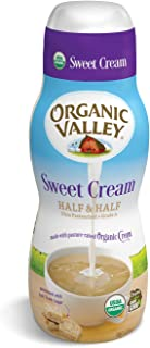 Organic Valley, Organic Sweet Cream Half and Half - 16 oz Pint