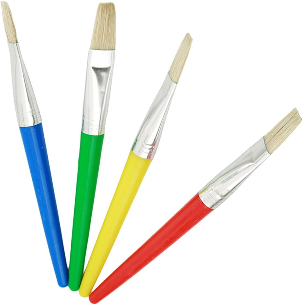Sale SALE% OFF Edtoy overseas Childrens 4pcs Paintbrushes Hair Hogs'