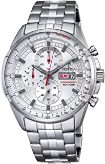 Festina F6844/1 For Men - Analog Casual Watch Stainless Steel