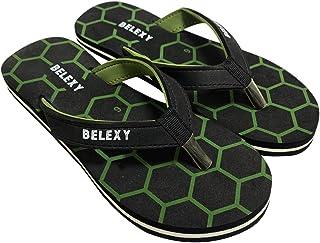 Belexy Men And Women Summer Flip Flops Slippers Sandals, Male Solid Anti-slip Beach Slipper Flat Casual Shoes