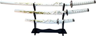 white dragon samurai sword