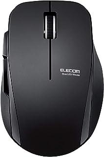 エレコム ワイヤレスマウス 静音 5ボタン ブラック M-FBL01DBXSBK