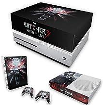Capa Anti Poeira e Skin para Xbox One S Slim - The Witcher 3#A