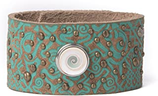 Noosa pulsera Wrap Bracelet Patterns Classic Cuff Turquesa