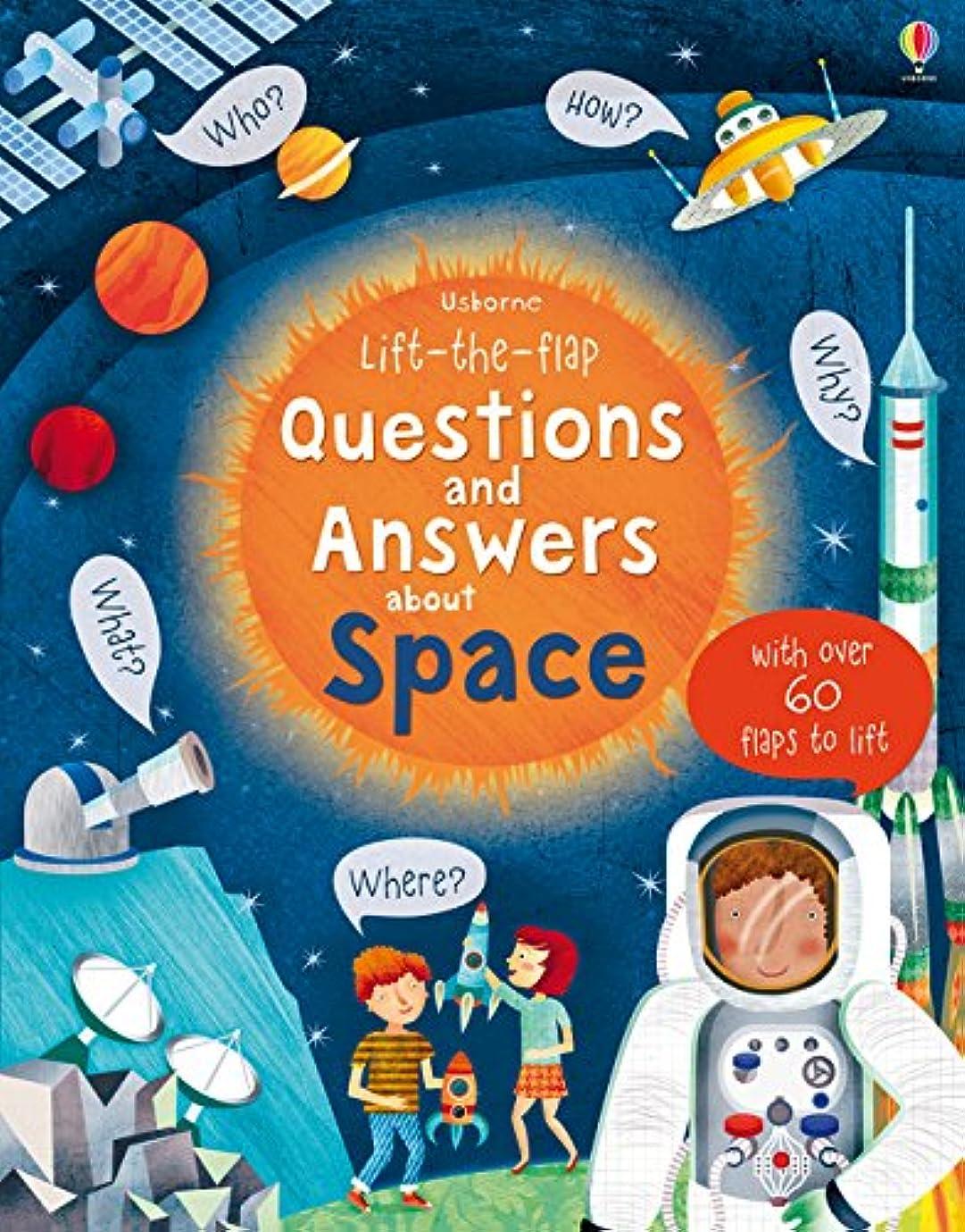 前兆貯水池ロケーションLift-The-Flap Questions and Answers About Space (Lift the Flap Questions and Answers)