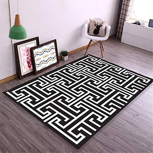 Mishxh tapijt, Europese stijl 1-20, waterdicht, antislip, super zacht, geschikt voor woonkamer, slaapkamer, keuken, hal. 120x200cm