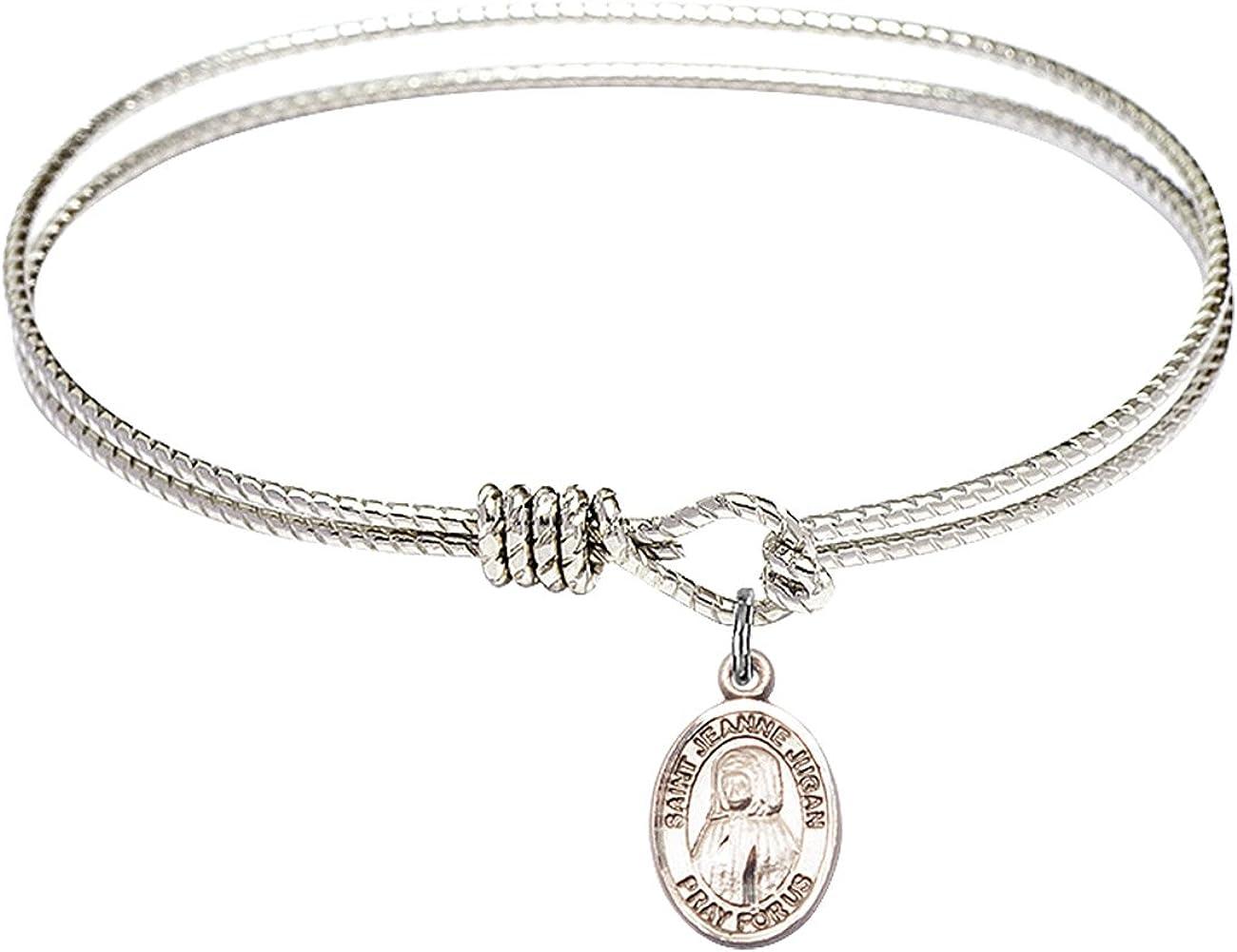 Bonyak Jewelry Oval Eye Hook Bangle Jeanne St. At the Soldering price w Jugan Bracelet