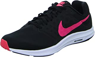 Nike Womens WMNS Downshifter 7 Black Racer Pink White Size 11