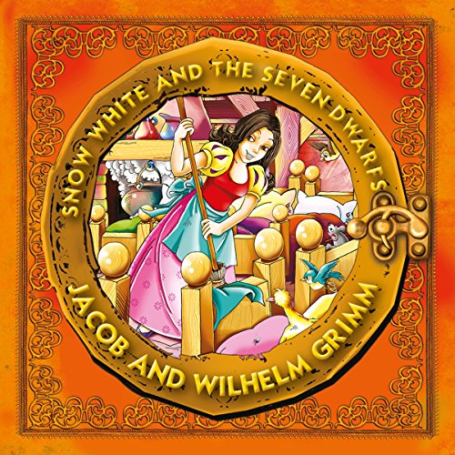 Snow White and the Seven Dwarfs audiobook cover art