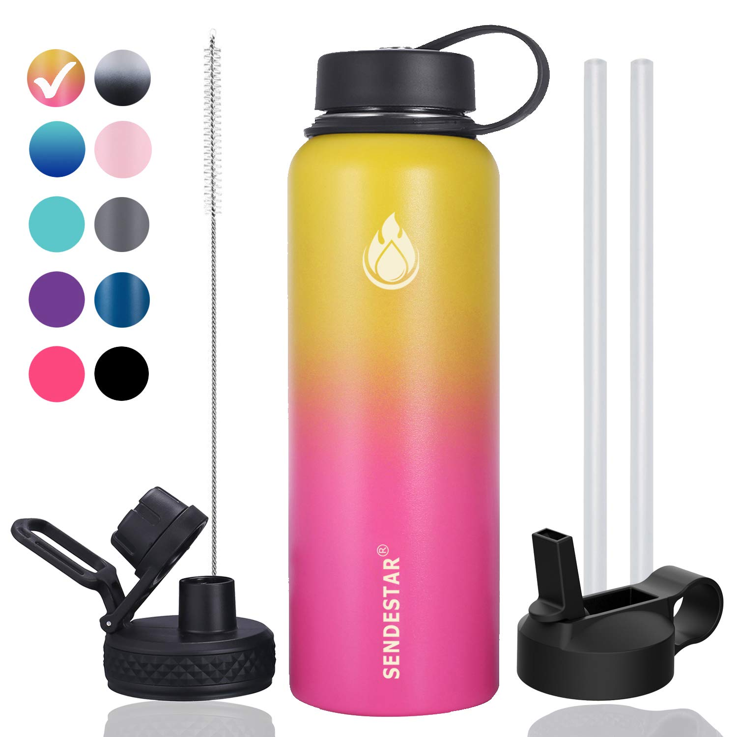 Sendestar Double Insulated Stainless Bottle Wide
