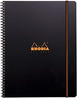 Rhodia Active Pro Book, A4+ Lined - Black