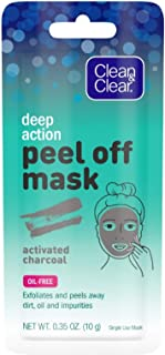 clean and clear deep action peel off mask
