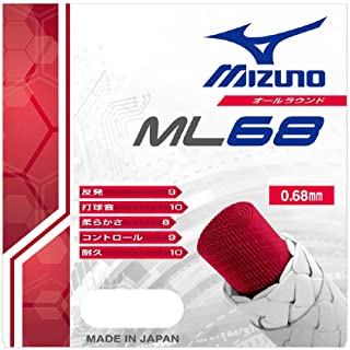 MIZUNO(ミズノ) バドミントンガット ストリングスML68 (10mロール) 73JGA600