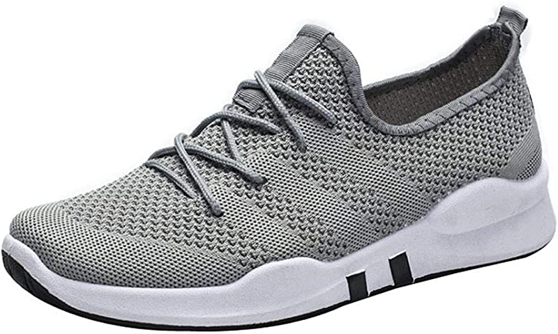 Casual Men S Sports Shoes Shallow Mouth Low Top Breathable Running Shoe Outdoor Sneakers