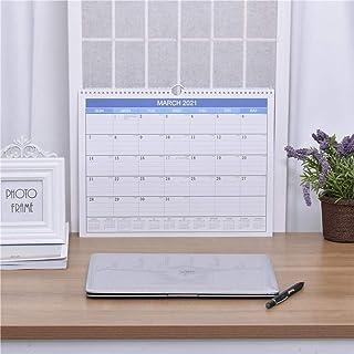 カレンダー ウォールカレンダー 卓上カレンダー 日付チェック 日付の記録 計画制定 仕事概要 メモ書き 時間管理 家庭 学校 事務所 お正月プレゼント 2020年9月から2021年12月まで
