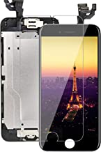 Full Assembly for iPhone 6 Plus Screen Replacement (A1524 A1522 A1593) Black 5.5 LCD Touch Digitizer Display with Front Ca...