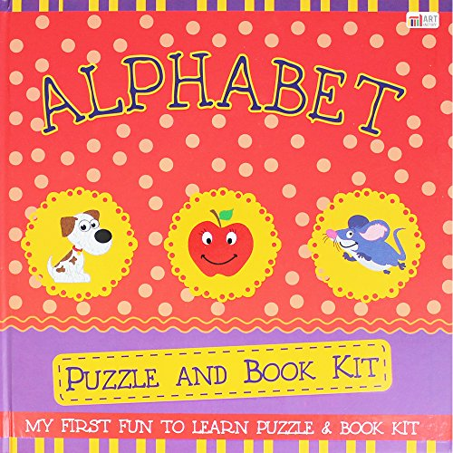 Alphabet 24 Peice Puzzle and Book Kit