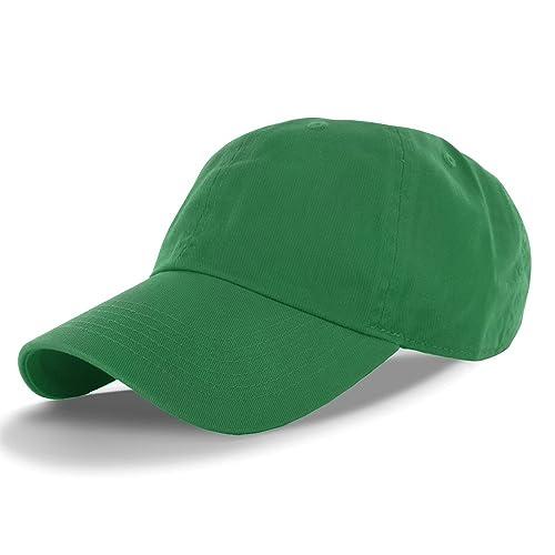 c0999ccbe9ac9 DealStock Plain 100% Cotton Hat Men Women Adjustable Baseball Cap (30+  Colors)