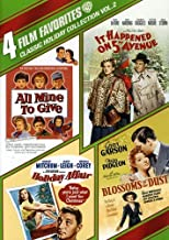 4 Film Favorites: Classic Holiday Volume 2 (All Mine to Give / Blossoms in the Dust / Holiday Affair / It Happened on 5th Avenue)