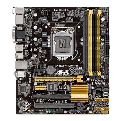 ASUS B85M-E GL/USB3.0/SATA600/R/DVI/HDMI/VGA/DP B85 mATX Sockel 1150