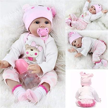 かわいい模擬赤ちゃん人形はお子様の最高な贈り物でしょう (55cm, (目(め)を开(あ)ける))