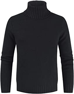 Men's Pullover Men's Sweater, Basic Sweaters Men's Cotton Sweater Turtleneck Sweaters Long Sleeve Casual Men's Sweatshirt ...